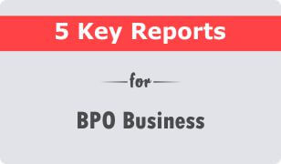 5 Key CRM Reports for BPO Business