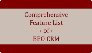 Booklet on 100 Features of BPO CRM