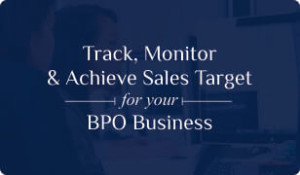 Booklet on BPO CRM for Sales Target Management