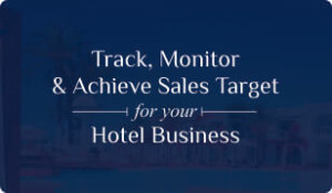 Download booklet on Hotel CRM for Sales Target Management