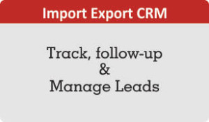Download booklet on Import Export CRM for Lead management