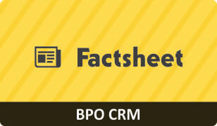 Factsheet on CRM for BPO Business