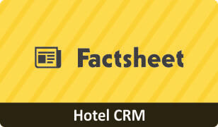 Download Factsheet on CRM for Hotel business