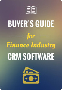 Financial services CRM Software Buyers Guide