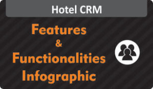 Download Infographic on features & functionalities of Hotel CRM