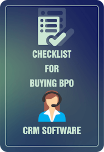 Checklist for Buying BPO CRM Software