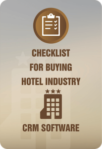 Checklist for Buying Hotel Industry CRM Software