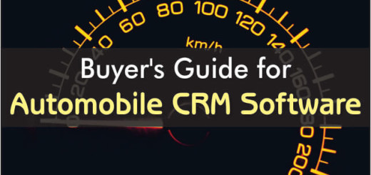 Buyers Guide For Automobile CRM