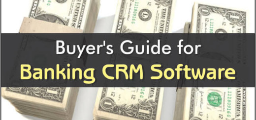 Buyers Guide For Banking CRM