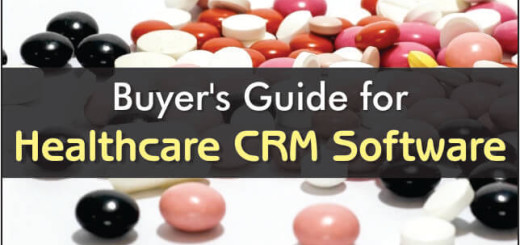 Buyers Guide For Healthcare CRM