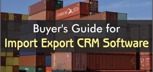 Buyers Guide For Import Export CRM