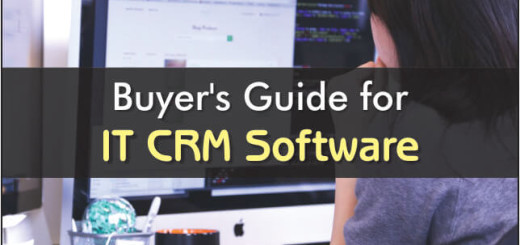 Buyers Guide For IT CRM