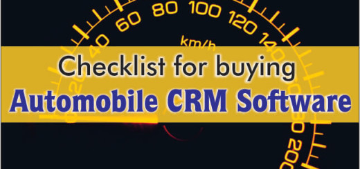 Checklist For Buying Automobile CRM Software
