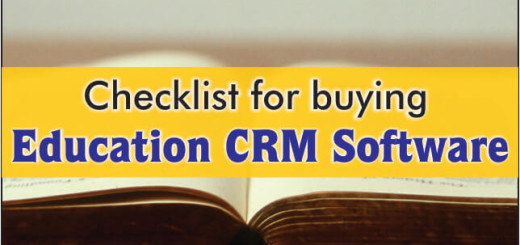 Checklist For Buying Education CRM
