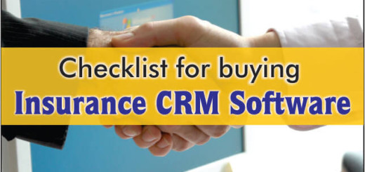 Checklist For Buying Insurance CRM