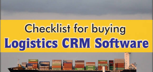 Checklist For Buying Logistics CRM