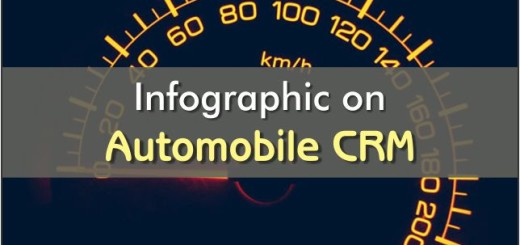 Infographic on Automobile CRM