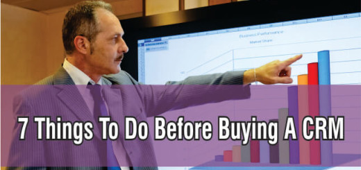 7 things to do before buying a CRM