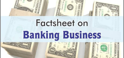 Factsheet on Banking business
