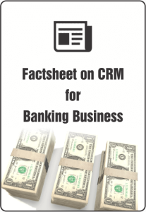 Factsheet on CRM for Banking business