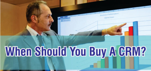 When should you buy a CRM