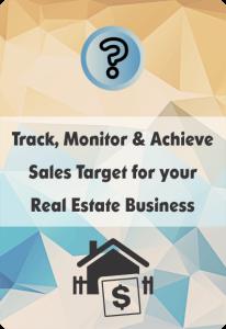 Booklet On Sales Target Management For Real Estate Business