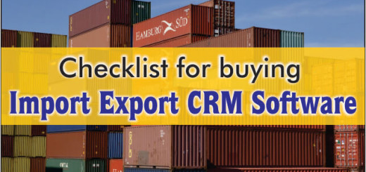 checklist for import export