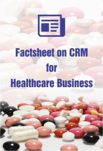 Factsheet On CRM For Healthcare