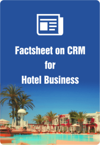 Factsheet On CRM For Hotel Business