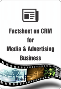 Factsheet On Crm For Media & Advertising Business