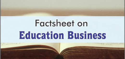 factsheet on education business
