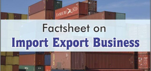 Factsheet On Import Export CRM