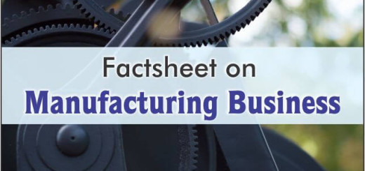 factsheet on manufacturing business