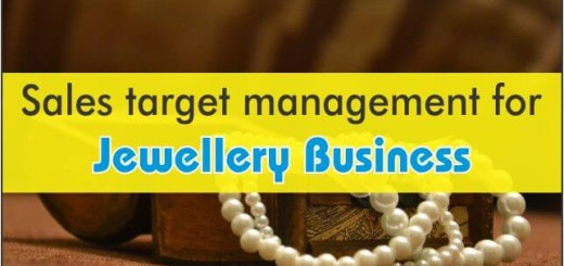 Sales Target Management For Jewellery Business