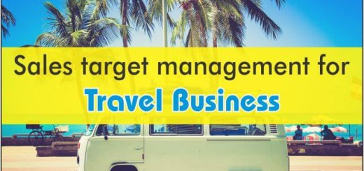 Sales Target Management For Travel Business