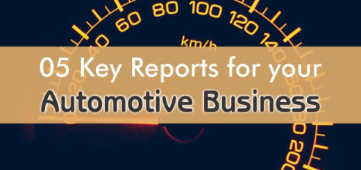 5 key rm reports for automotive business
