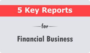 5 key crm reports for financial services business