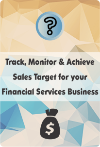 Booklet On CRM For Financial Services For Sales Target Management