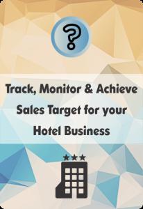 booklet on hotel crm for sales target management