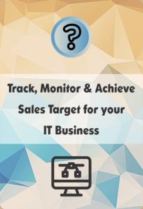 booklet on it crm for sales target management