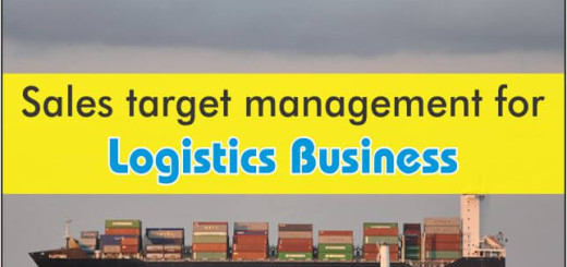 sales target management for logistics business