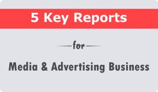 5 key crm reports for media and advertising business