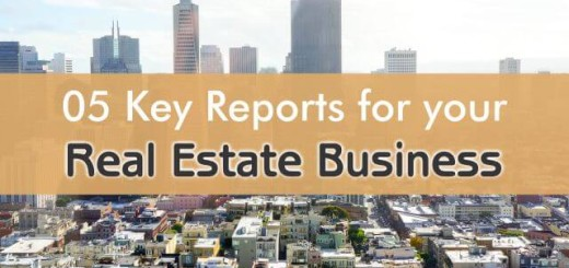 5 key crm reports for real estate business
