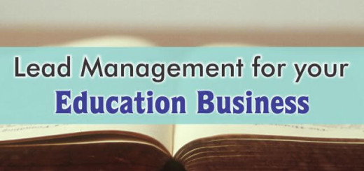 crm for lead management in education business