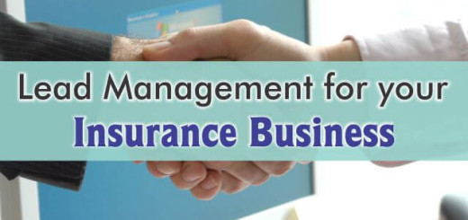 crm for lead management in insurance business