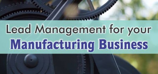 crm for lead management in manufacturing business