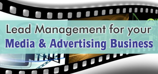 crm for lead management in media and advertising business