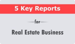 real estate crm reports booklet
