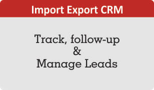 booklet on import export crm for lead management