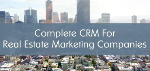 complete crm for real estate marketing companies banner